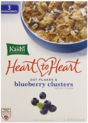 Heart 2 Heart Clusters Cereal Kashi