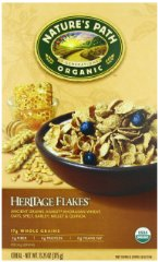 Organic Heritage Flakes Whole Grains Cereal Nature's Path