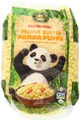 Organic Peanut Butter Panda Puffs Envirokidz