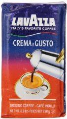 Crema e Gusto Ground Coffee by Lavazza