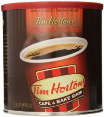 Ground Coffee Premium Blend by Tim Hortons