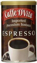 Imported Instant Espresso by Caffe D'Vita