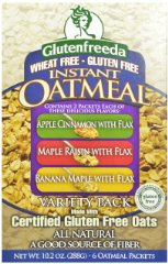 Instant Oatmeal Variety Pack by Glutenfreeda's