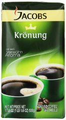 Jacobs Kronung Coffee Vacuum Packs