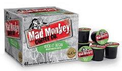Mad Monkey Coffee Capsules Kick It Decaf