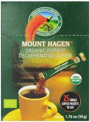Mount Hagen Organic Instant Decaffeinated Coffee Single Serve Sticks