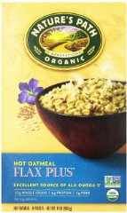Organic Instant Hot Oatmeal by Nature's Path