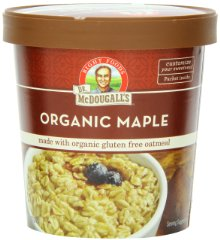 Organic Maple Oatmeal Cups by Dr. McDougall's Right Foods