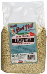 Organic Oats Rolled Quick by Bob's Red Mill