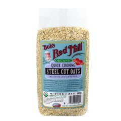 Organic Quick Cook Steel Cut Oats by Bob's Red Mill