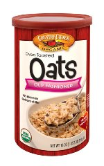 Oven Toasted Old Fashioned Oats by Country Choice Organic