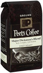 Peet's Ground Coffee Major Dickason's