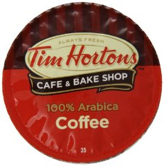 Single Serve Coffee Cups by Tim Hortons