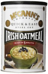 Steel Cut Irish Oatmeal Quick & Easy by McCANN'S