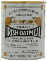Steel Cut Oatmeal by Mccann's