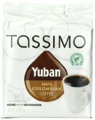 Yuban 100% Colombian Coffee by Tassimo