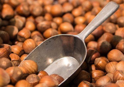 Roasting Raw Hazelnuts