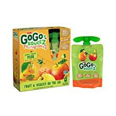 GoGo SqueeZ Fruit & VeggieZ on the Go