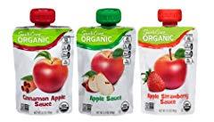 Santa Cruz Organic Applesauce Pouches