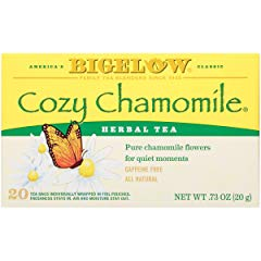Bigelow Cozy Chamomile Herbal Tea Bags