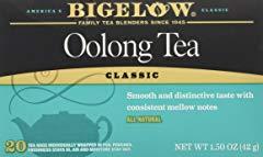 Bigelow Oolong Tea Bags Classic