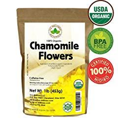 Chamomile Tea 1LB 100% CERTIFIED Organic
