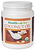 Healthworks Coconut Oil Organic Extra Virgin Cold-Pressed
