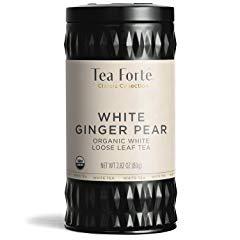 Tea Forté Organic White Tea WHITE GINGER PEAR