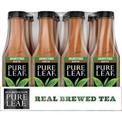 Pure Leaf Iced Tea, Unsweetened, Real Brewed Black Tea