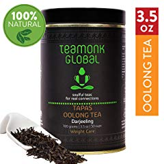 Teamonk Darjeeling Organic Oolong Tea for Weight Loss