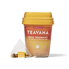 Teavana Peach Tranquility, Herbal Tea With Chamomile
