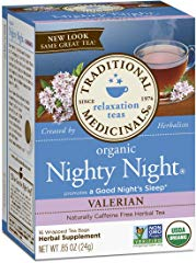 Traditional Medicinals Organic Nighty Night Valerian Relaxtion Tea