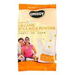 Unisoy 100% Organic Instant Premium Soy Milk Powder Drink