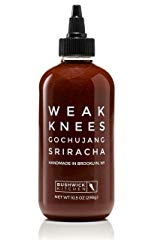 Bushwick Kitchen Weak Knees Gochujang Sriracha Chili Hot Sauce