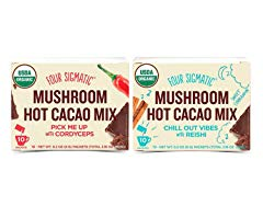 Four Sigmatic, Superfood Mushroom Hot Cacao Mix Variety Pack