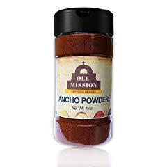 Ancho Chile Powder 4 oz Ounce Ground Chili Natural Seasoning