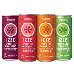 IZZE Sparkling Juice, 4 Flavor Variety Pack