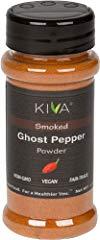 Kiva Gourmet Smoked, Ghost Chili Pepper Powder (Bhut Jolokia)