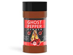 100% Pure & Raw Smoked Ghost Pepper Powder