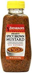 Zatarains Mustard Hearty Spicy Brown Mustard