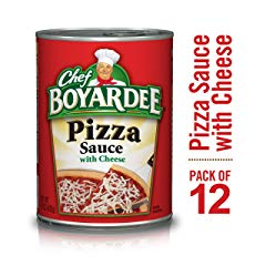 Chef Boyardee Pizza Sauce with Cheese