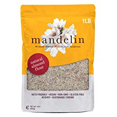 Mandelin Grower Direct Natural Unblanched Almond Flour Keto