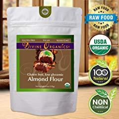 Organic Almond Flour Powdered Gluten Free Low Glycemic