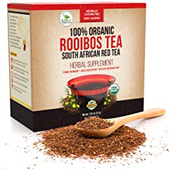 Organic Rooibos Tea Bags Caffeine Free South African Red Tea Detox