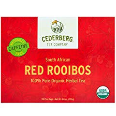 Red Rooibos Tea 100 Teabags USDA Organic Cederberg Tea Company