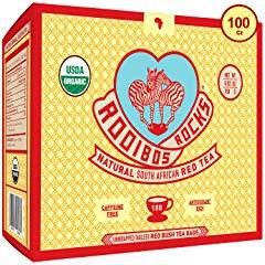 Rooibos Tea Organic Tagless Teabags