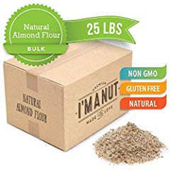 UNBlanched Natural Almond Flour Great for Paleo and Keto Diet