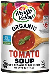 Health Valley Organic No Salt Added Soup