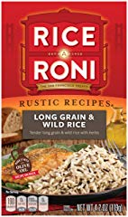 Rice a Roni, Rustic Recipies, Long Grain and Wild Rice Mix