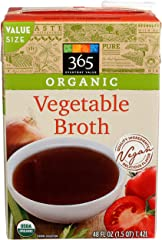 365 Everyday Value, Organic Vegetable Broth
